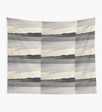 Misty New Zealand Hills Wall Tapestry