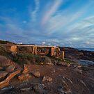 The Old Water Wheel - Cape Leeuwin WA by Chris Paddick