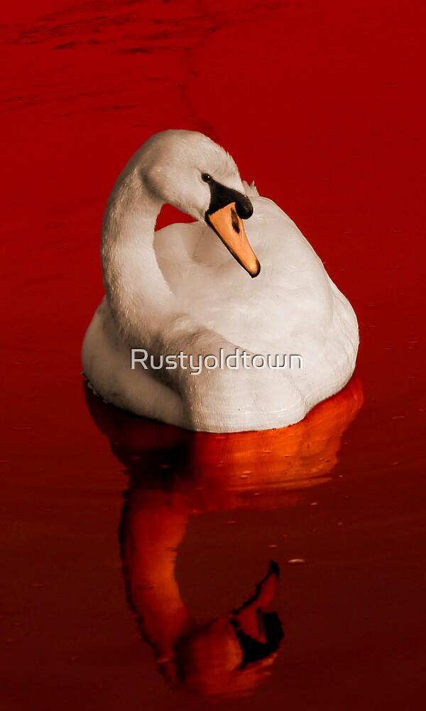 Blood Swan by Rustyoldtown