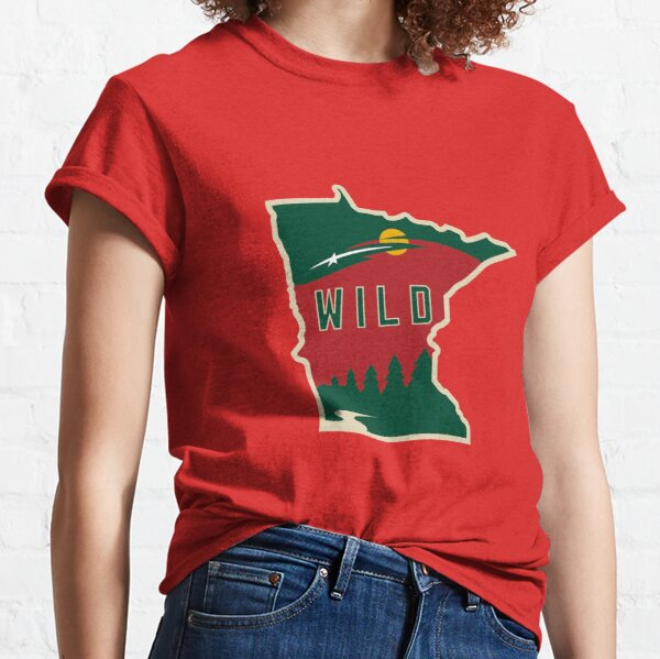MN Wild Outline Classic T-Shirt