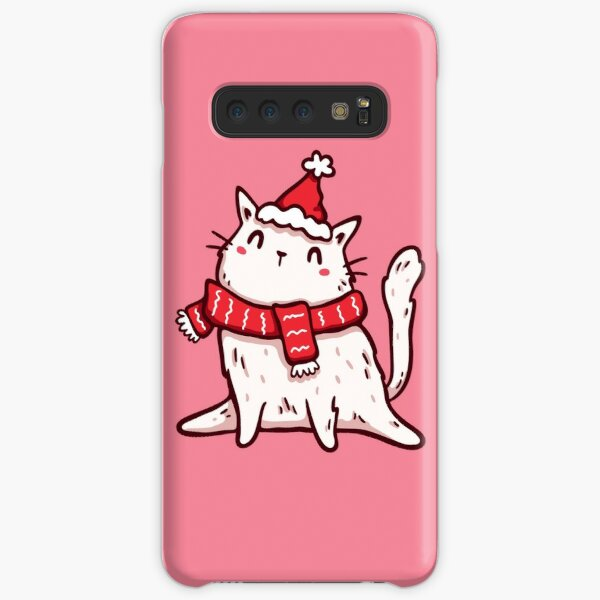 Christmas Kitten v.2 Samsung Galaxy Snap Case