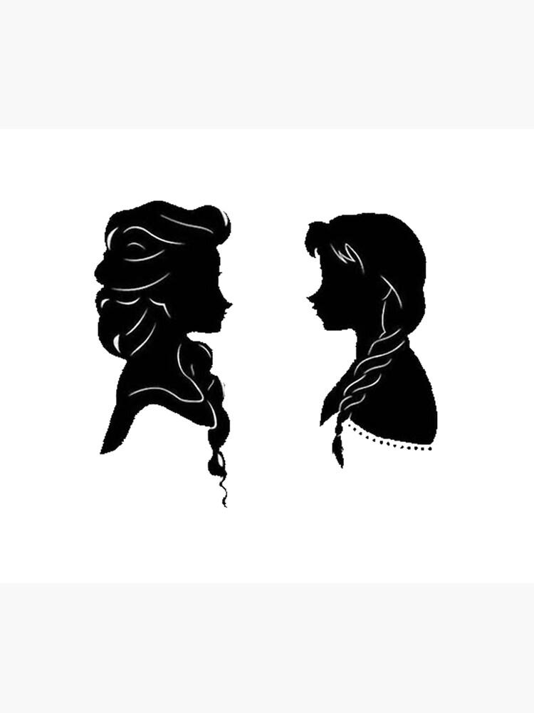 Sisters Silhouette by DavidDenham