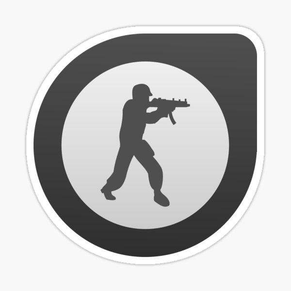 Counter Strike: Global Offensive logo (CSGO) Sticker