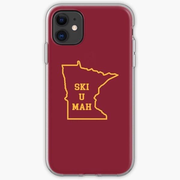 Ski U Mah MN Outline iPhone Soft Case