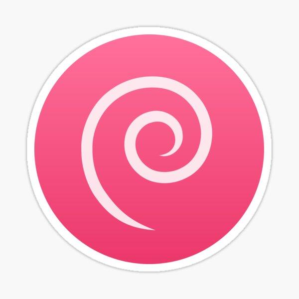 Debian OS Sticker