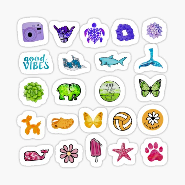 Colorful Rainbow Pack Sticker