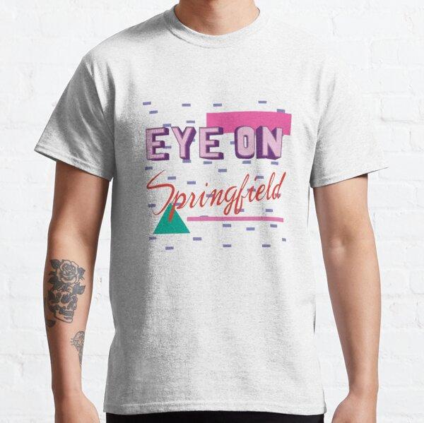 Oeil sur Springfield T-shirt classique