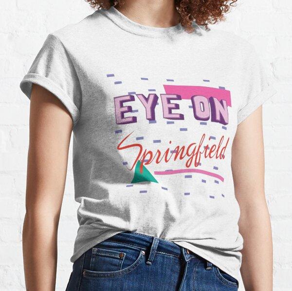 Ojo en Springfield Camiseta clásica