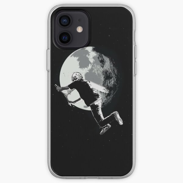 Tailing the Moon - Tail-whip Scooter Stunt iPhone Soft Case