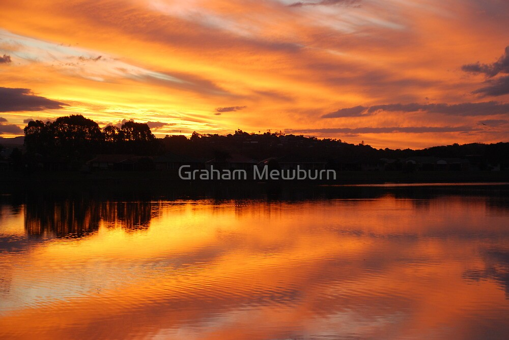 Ablaze by Graham Mewburn