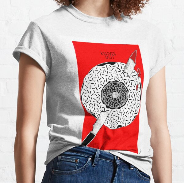 Knives Out  // Donut in a Donut // Alternative Movie Poster Classic T-Shirt