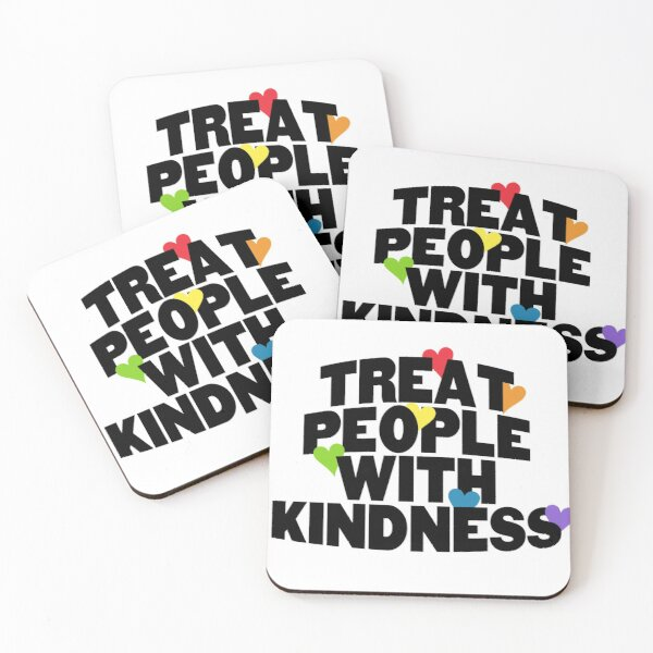tpwk - black letters Coasters (Set of 4)