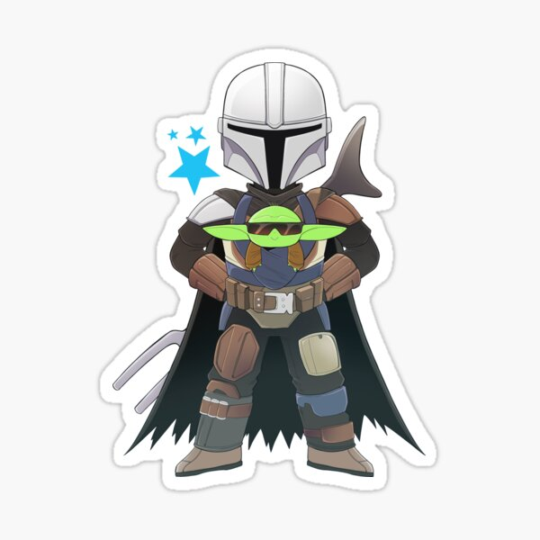 BEST DAD (with Baby Yoddle) Sticker