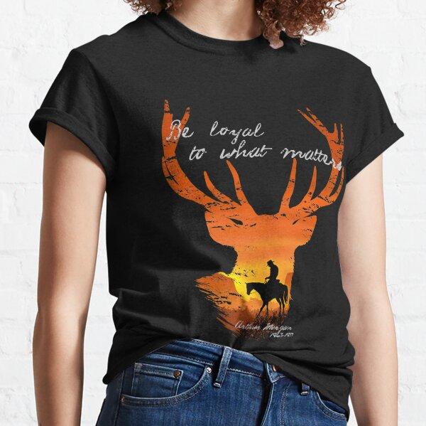 Soyez fidèle à l'essentiel - hommage à Arthur Morgan T-shirt classique