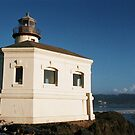 Coquille River Lighthouse by Steven Newton