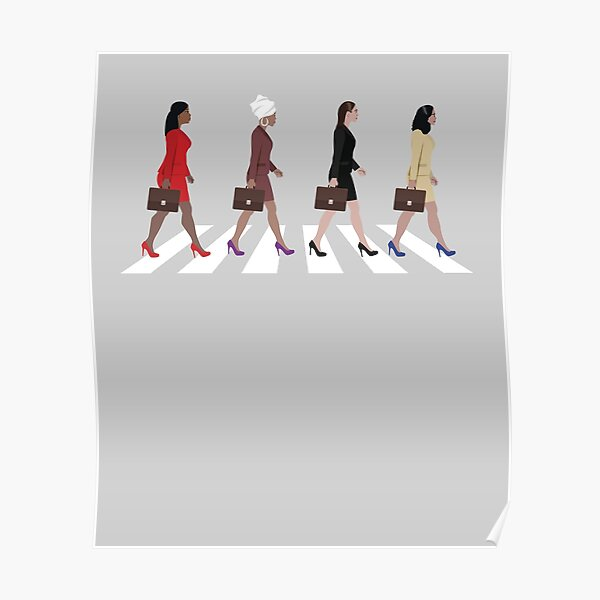 The Squad Crossing Road Poster