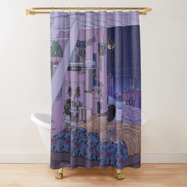 Sweet Dreams- Night Shower Curtain