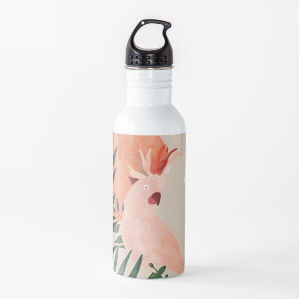 Cockatoo jungle modern Water Bottle