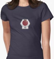 Lazer Tag Chest Sensor Women's Fitted T-Shirt