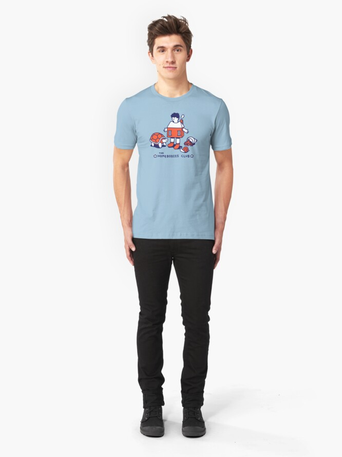 Alternate view of The Homebodies Club Slim Fit T-Shirt