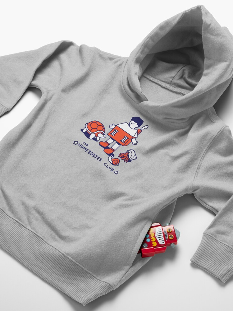 Alternate view of The Homebodies Club Toddler Pullover Hoodie