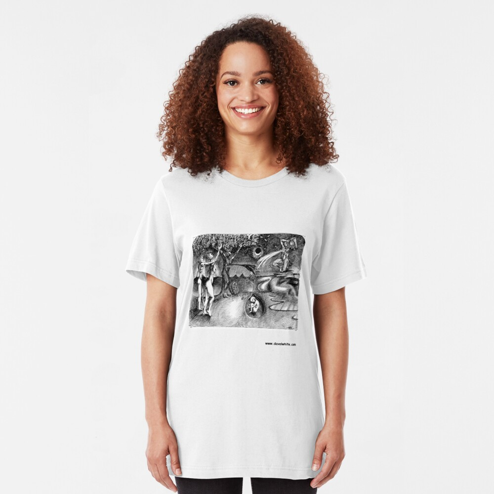 Adam and Eve Slim Fit T-Shirt