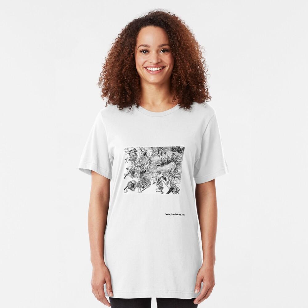 Natural Democracy Slim Fit T-Shirt