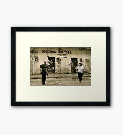 Dulceria Carlitos II Framed Print