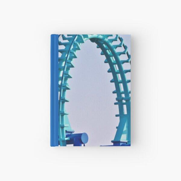 Aqua Loop Hardcover Journal