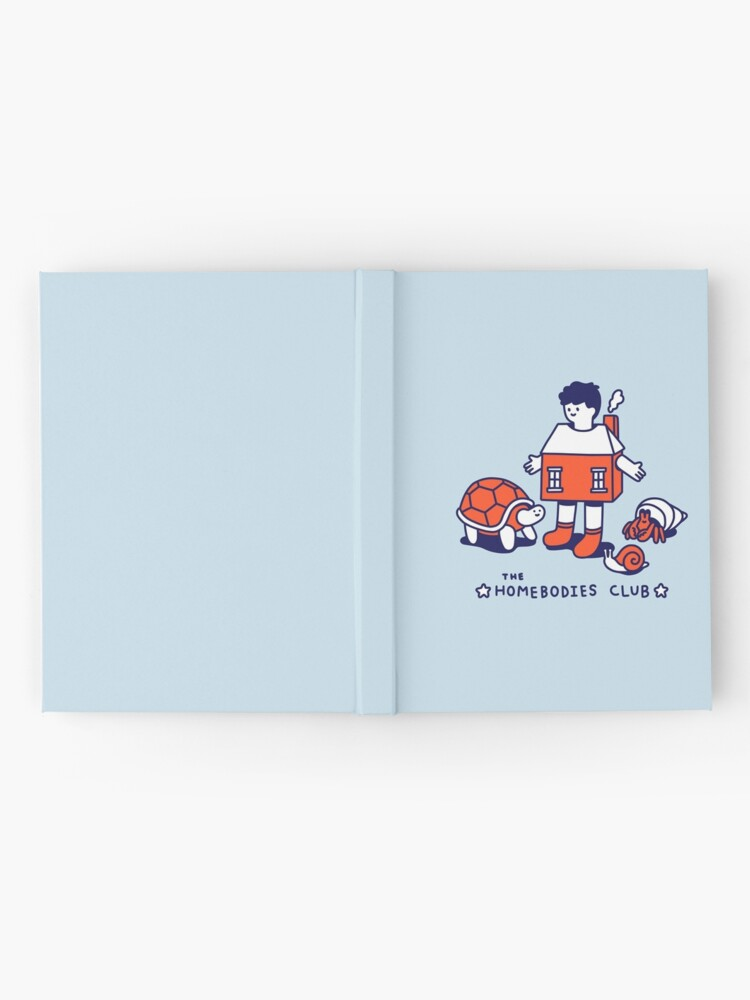 Alternate view of The Homebodies Club Hardcover Journal