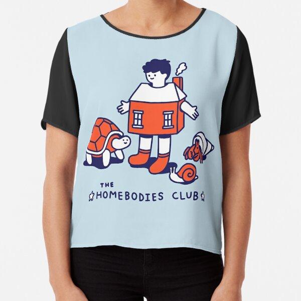 The Homebodies Club Chiffon Top