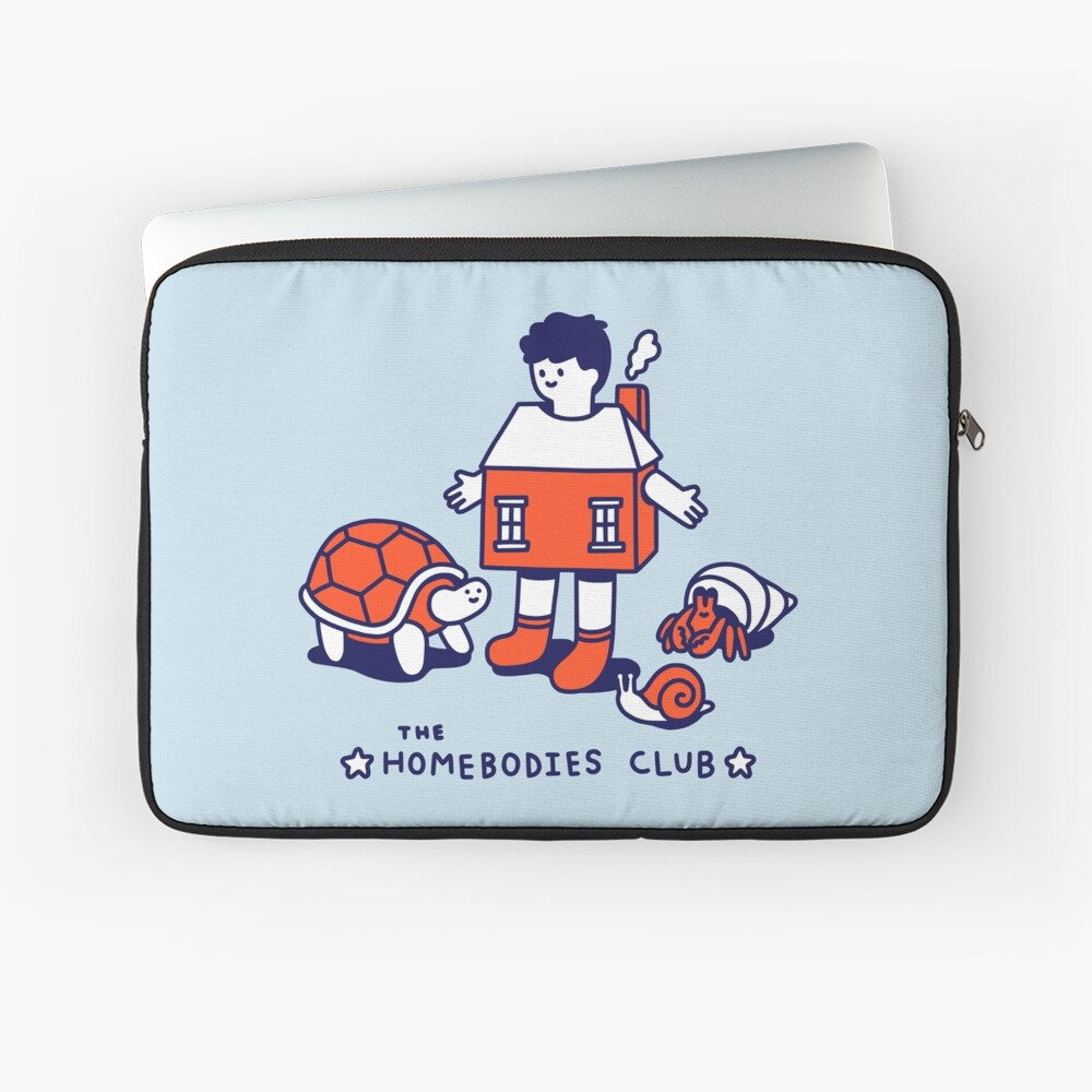 The Homebodies Club Laptop Sleeve