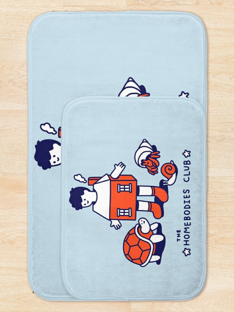 Alternate view of The Homebodies Club Bath Mat