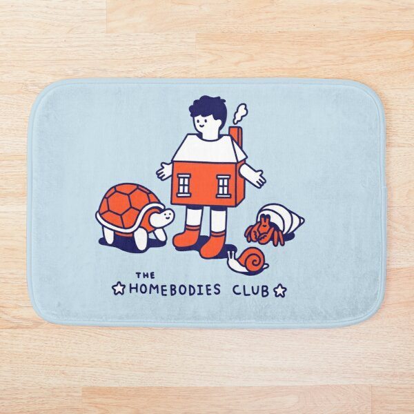 The Homebodies Club Bath Mat