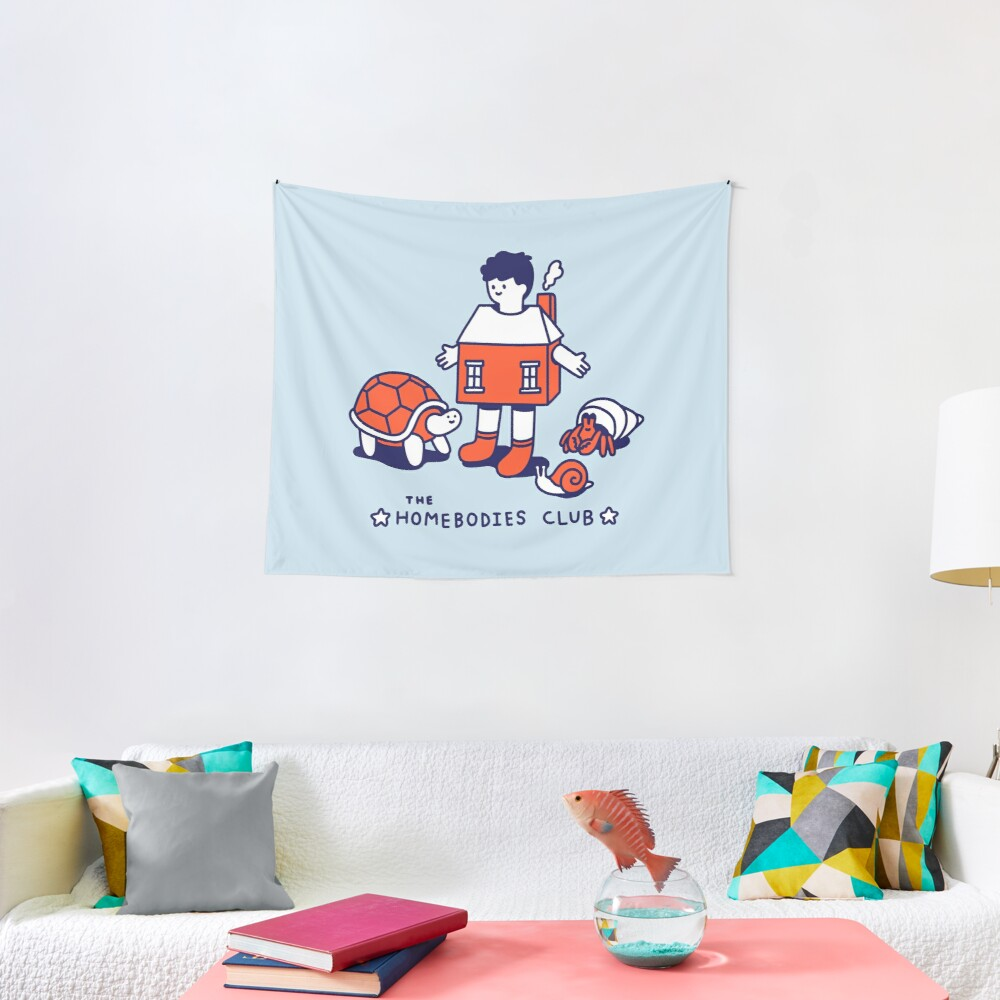 The Homebodies Club Tapestry