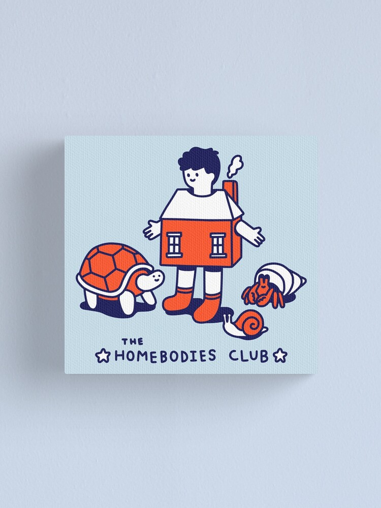 Alternate view of The Homebodies Club Canvas Print