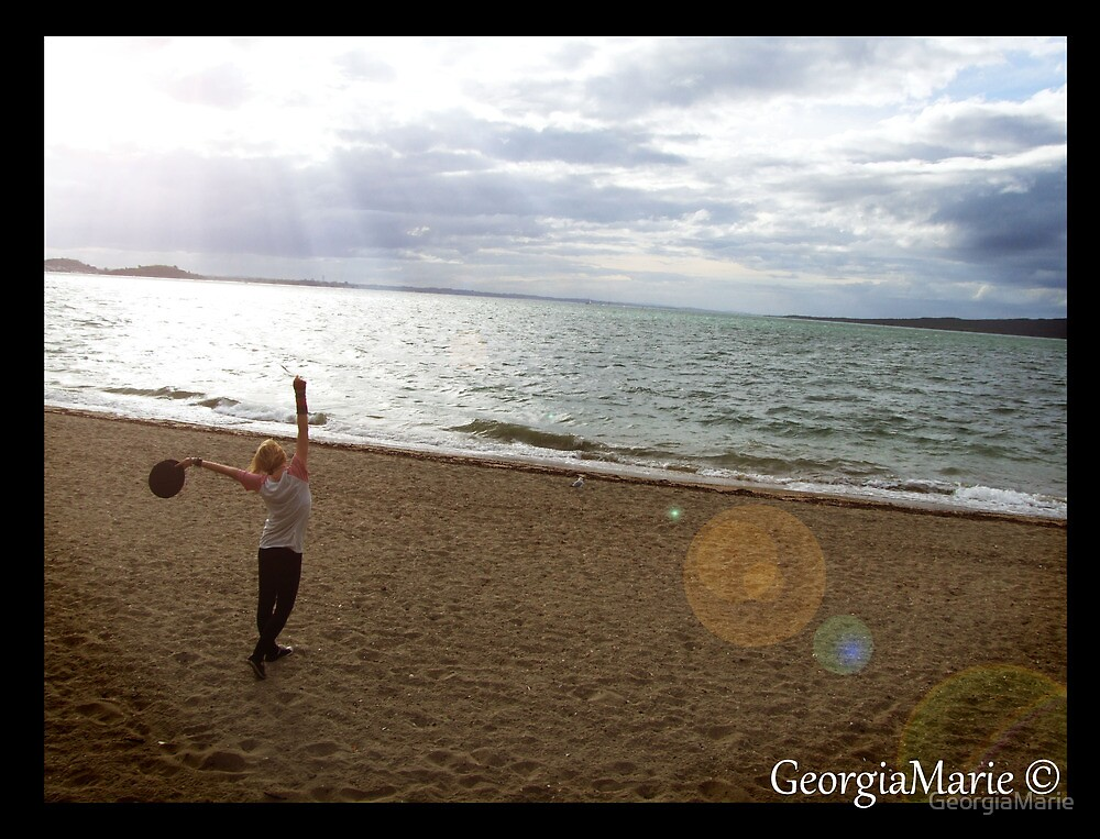 Dancing in the sand in the acid rain.  by GeorgiaMarie