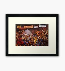 Classical 1970's African American Masterpeace 'Sugar Shack' Print Framed Print