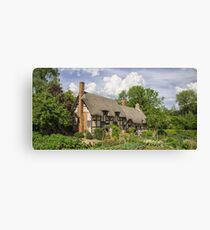 Ann Hathaways Cottage Canvas Print