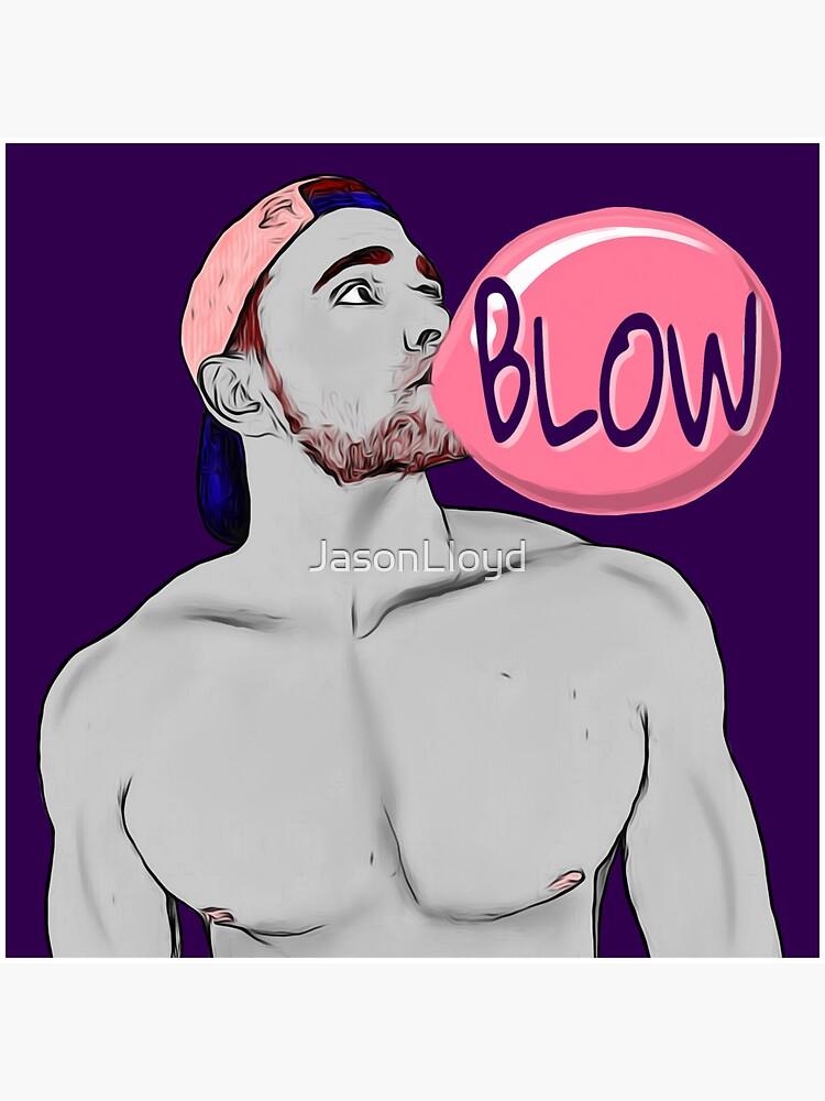 Blow (purple) by JasonLloyd