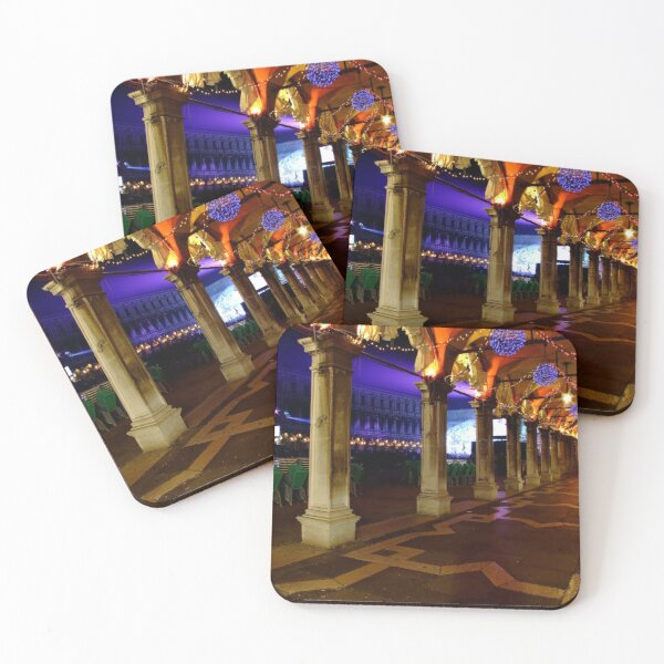 Party's over, Venice Coasters (Set of 4)