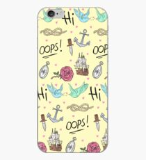 Larry Stylinson Kostenloses Tattoo-Muster iPhone-Hülle & Cover