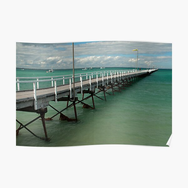 Beachport Jetty, South Australia Poster