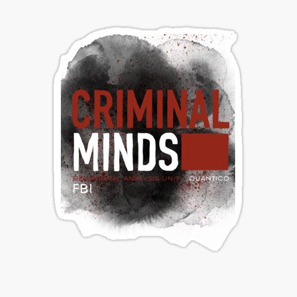 Criminal Minds graphic Sticker