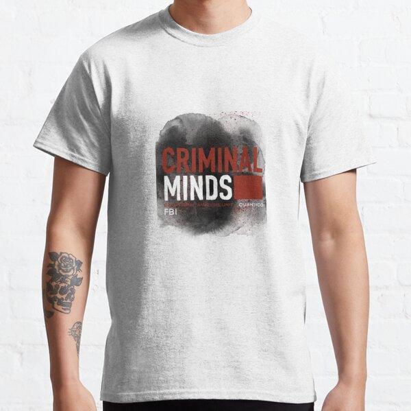 Graphique Criminal Minds T-shirt classique