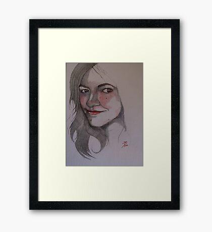 Allison Framed Print