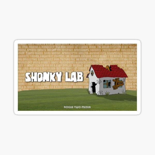 Shonky Lab Sticker
