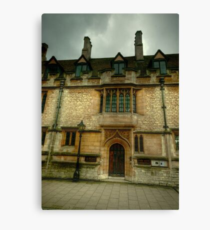 St Cross College Oxford Canvas Print