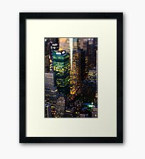 It's a small, small world... Framed Print