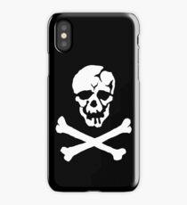 Skull Squadron (white skull) iPhone Case